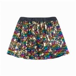 Sequin Skirt Multi 4