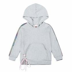 Sequin Stripe Hoodie 3