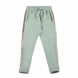 Side Panel Trackies Khaki 5