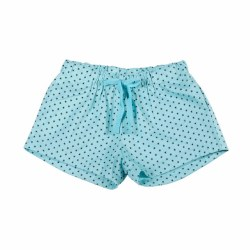 Star Drawstring Short Turq 2