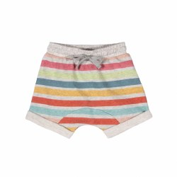 Trackie Baby Shorts Stripe 6M