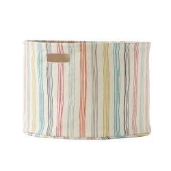 Pehr Rainbow Stripe Meduim Storage Drum