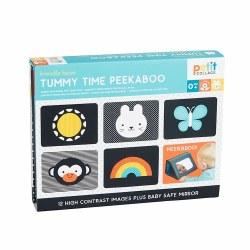Tummy Time Peekaboo Images & Mirror