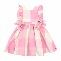 Amy Dress Pink Gingham 5