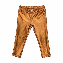 Baby Leg Copper Lame 6-12M