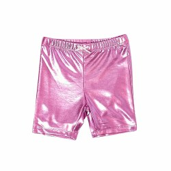 Bike Short Pink Lame 4
