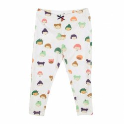 Doll Legging Antique White 6