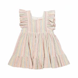 Elsie Dress Rainbow Stitch 8