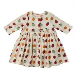 Fatima Dress Apples 2