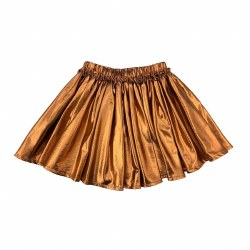 Gianna Skirt Copper Lame 10