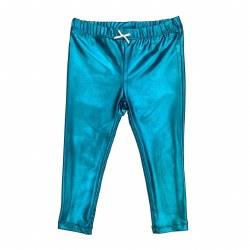 Legging Turquoise Lame 10
