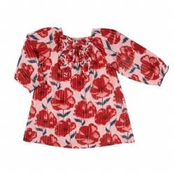 Lexi Baby Dress Rose 6-12M