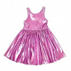 Liza Lame Dress Pink 3