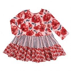 Penelope Dress Crystal Rose 6
