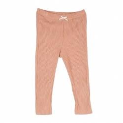 Rib Legging Coral Pink 4