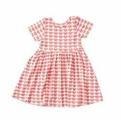 Steph SS Dress Hearts 7