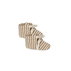 Baby Boots Walnut Strp 0-3M