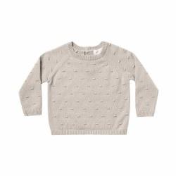 Bailey Baby Sweater Fog 0-3M