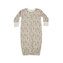Bamboo Gown Fleur 0-3M