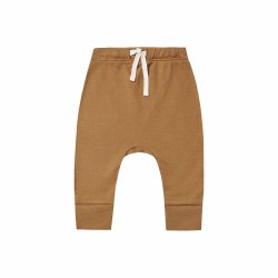 Drawstring Pant Walnut 0-3M
