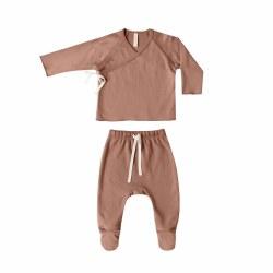 Kimono Jersey Set Clay NB