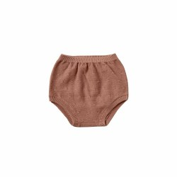 Knit Bloomers Clay 0-3M