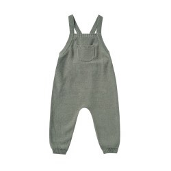 Knit Overalls Basil 6-12M