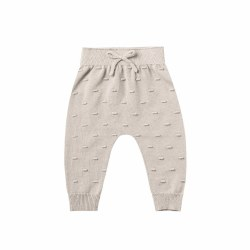 Knit Baby Pant Fog 6-12M
