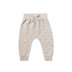 Knit Baby Pant Fog 0-3M