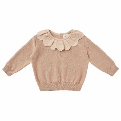 Petal Baby Sweater Petal 0-3M