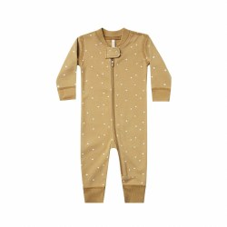 Zip Sleeper Gold Stars 0-3M