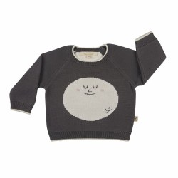 HappyMoon Baby Swtr Coff 6-9M