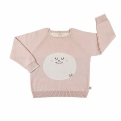 HappyMoon Sweater Peach 3