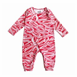 LS Onepiece Candy Canes 6-12M