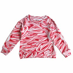 Sweatshirt Candy Canes 2
