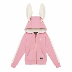 Bunny Ears Hoodie Pink 3