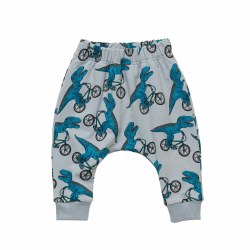 Dino Bike Baby Pants 3-6M