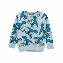 Dino Bike Baby Sweatshrt 3-6M