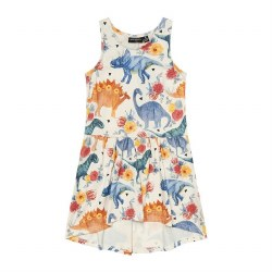 Dino Floral Tank Dress 8