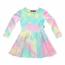 Festival Tie Dye LS Dress 2