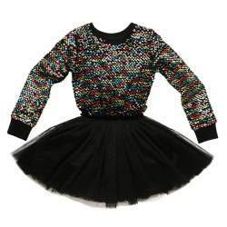 Sequin LS Circus Dress 3