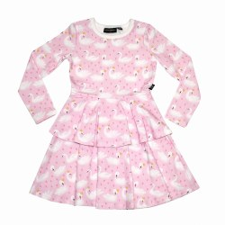 Swannie LS Layered Dress 8
