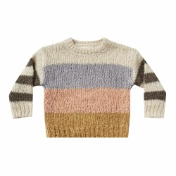 Aspen Stripe Sweater 12-18M