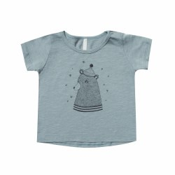 Bear SS Tee Dusty 12-18M
