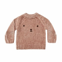 Bear Face Sweater 12-18M