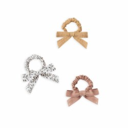 Bow Scrunchie Set Leaves