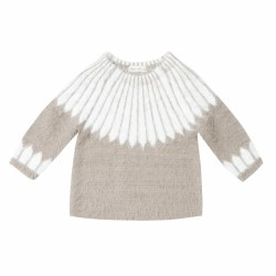 Chalet Sweater Ivory 12-18M