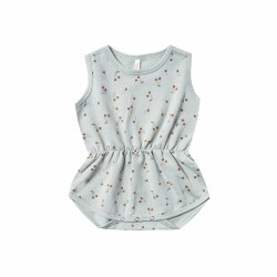 Cherries Playsuit Sky 3-6M