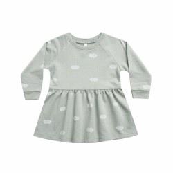 Clouds Raglan Dress 6/7