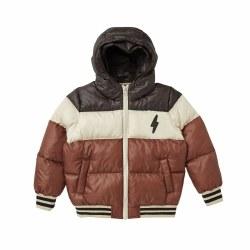 Colorblock Puffer Jacket 2/3